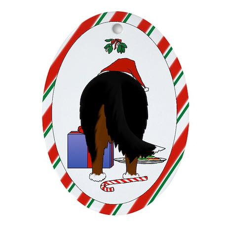 Berner Christmas Ornament (Oval)