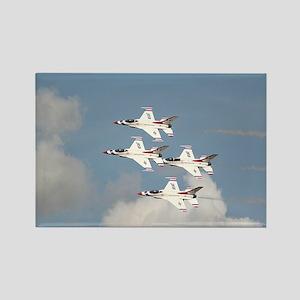USAF Thunderbirds Rectangle Magnet