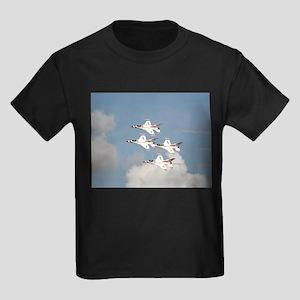 USAF Thunderbirds Kids Dark T-Shirt