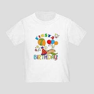 Fiesta 7th Birthday Toddler T-Shirt