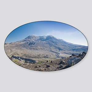 Mount St. Helens Sticker (Oval)