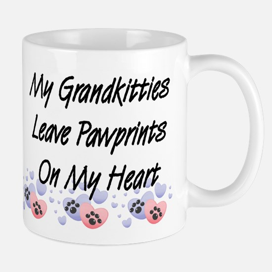 Grandkitties Pawprints Coffee Mug