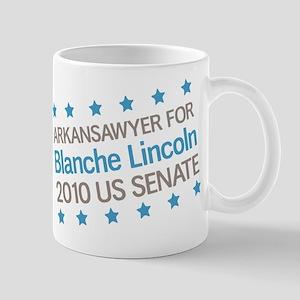 Arkansawyer for Lincoln Mug