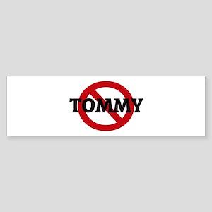 Anti-Tommy Bumper Sticker