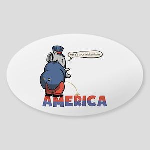 The Trickler Sticker (Oval)