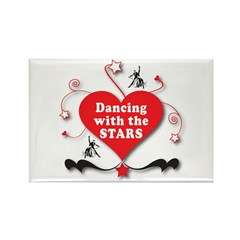 Dancing with the Stars Rectangle Magnet (100 pack)