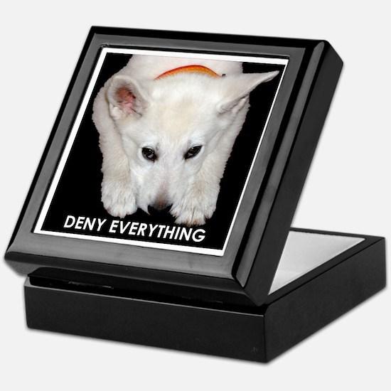 Deny Everything Keepsake Box