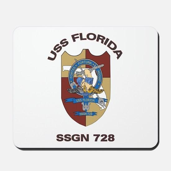 USS Florida SSGN 728 Mousepad
