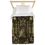 Hertel Ripa Iconologia Death Twin Duvet Cover