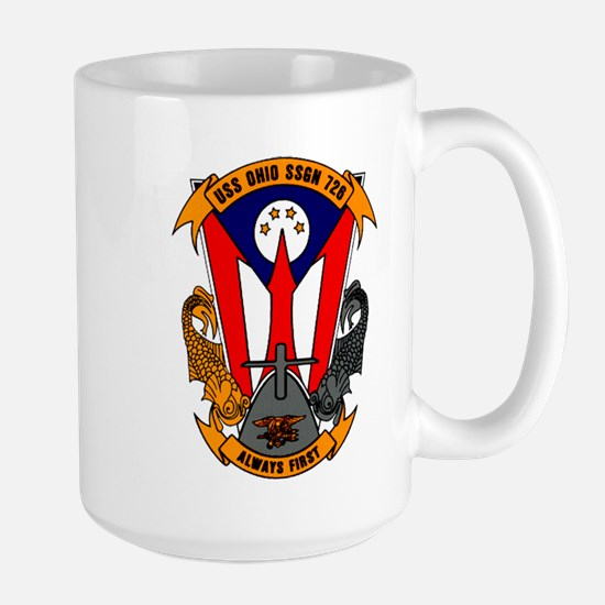 USS Ohio SSGN 726 Large Mug