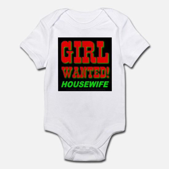 Girl Wanted! Housewife Infant Creeper