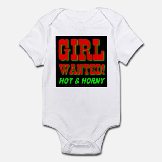Girl Wanted! Hot & Horny Infant Creeper