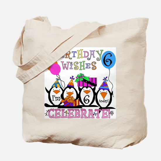Silly Penguins 6th Tote Bag