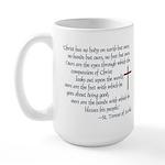 St. Teresa of Avila Quote Large Mug
