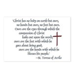 St. Teresa of Avila Quote Postcards (Package of 8)