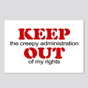 Keep out ... rights Postcards (Package of 8)