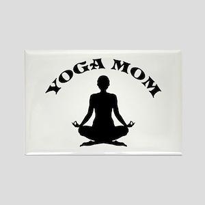 Yoga Mom Rectangle Magnet