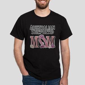 Australian Shepherd MOM Dark T-Shirt