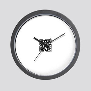 Spiritual Warrior Wall Clock