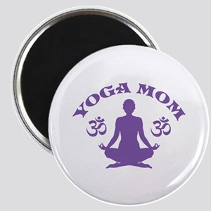 Yoga Mom Magnet