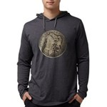 Morgan Silver Dollar Hoody Long Sleeve T-Shirt