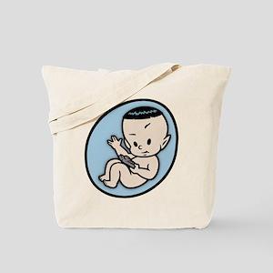 Logical Being Beaming In Tote Bag