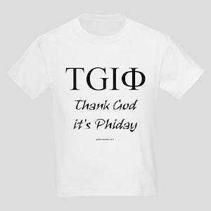 Thank God it's Phiday! Kids T-Shirt