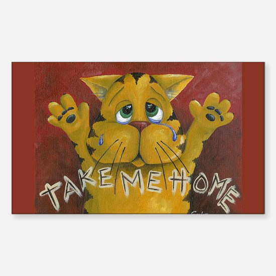 Take Me Home Rectangle Decal