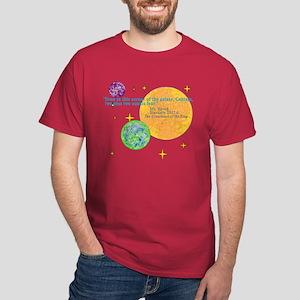 Spock Math Quote Dark T-Shirt