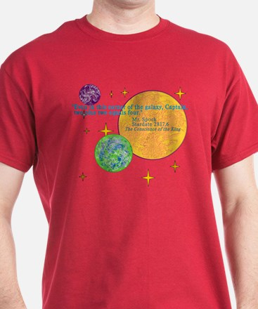 Spock Math Quote T-Shirt