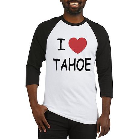 I heart Tahoe Baseball Jersey