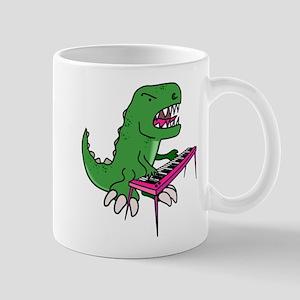 T-Rex Piano Mug