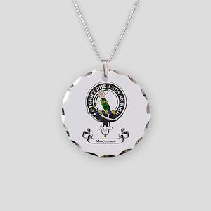 Badge - MacInnes Necklace Circle Charm