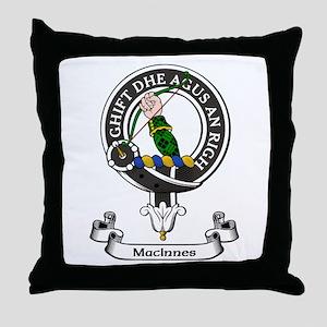 Badge - MacInnes Throw Pillow