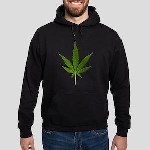 Marijuana Leaf Hoodie (dark)