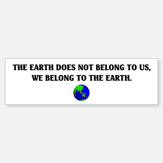 Mother Earth Sticker (Bumper)