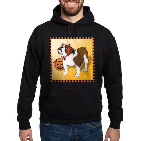 Halloween Bulldog Hoodie (dark)