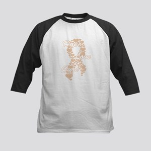The POWER of PEACH Kids Baseball Jersey