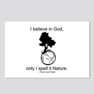 I believe in God... Postcards (Package of 8)