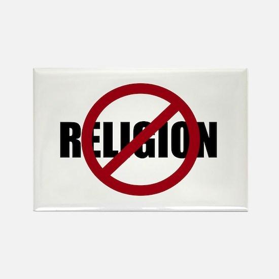 Anti-religion Rectangle Magnet