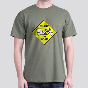 Share the Road Dark T-Shirt