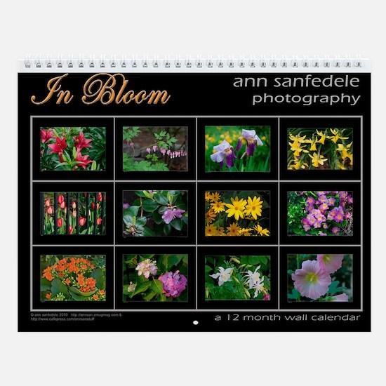 In Bloom - Wall Calendar