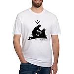 Masonic Friend to Friend Fitted T-Shirt
