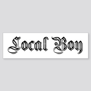 Local Boy Bumper Sticker