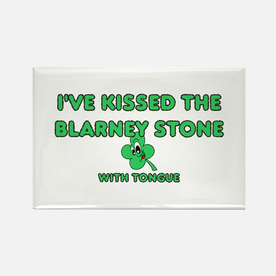 I've Kissed The Blarney Stone Rectangle Magnet