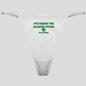 I've Kissed The Blarney Stone Classic Thong