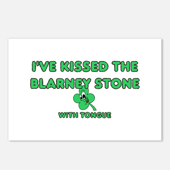 I've Kissed The Blarney Stone Postcards (Package o