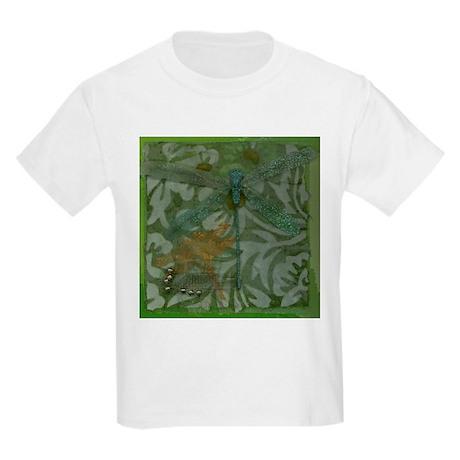 Dragonfly Blue Kids T-Shirt