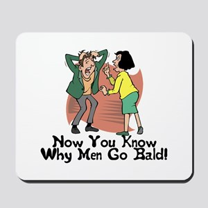 Go Bald Mousepad