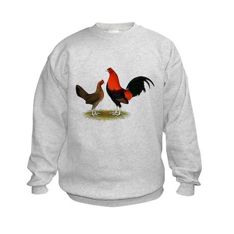 Old English BB Reds Kids Sweatshirt